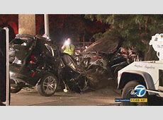 1 dead in possible streetracing crash in Upland, police