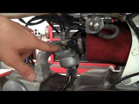 Fuel Filter Honda Pilot Atv by How To Carburetor Idle Pilot Adjustment Honda Xr70