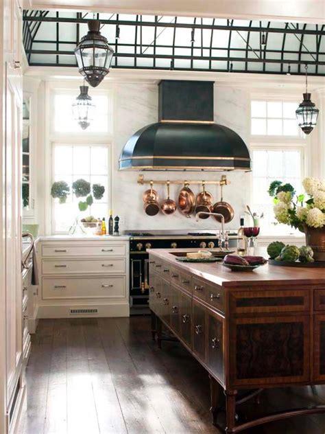 Kitchen Island With Pot Rack - creating a gourmet kitchen hgtv