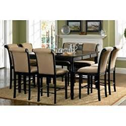 Amazon Counter Height Chairs by Amazon Com 9pc Counter Height Dining Table Amp Stools Set