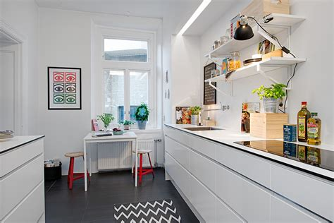 swedish apartment boasts exciting mix