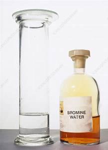 Bromine Test For Alkene - Stock Image  0438