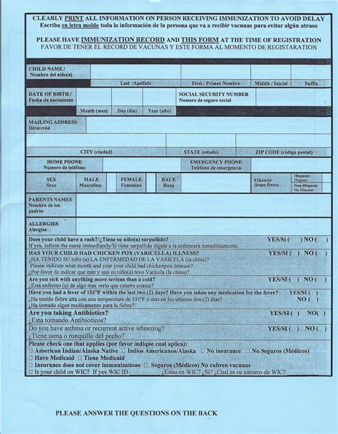 florida certification immunization form vaccination waiver in florida stuck n reality