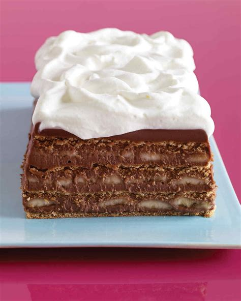 chocolate banana  graham cracker icebox cake recipe