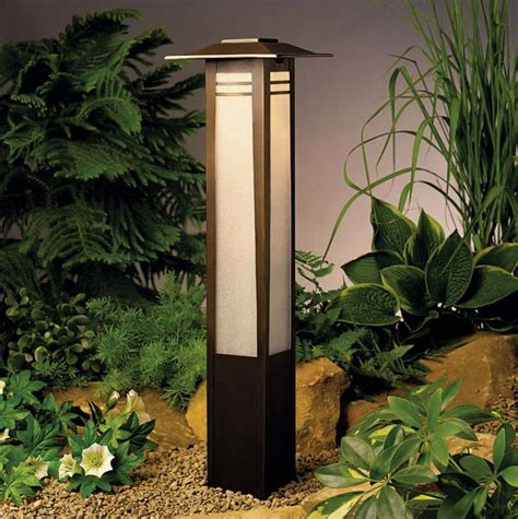 japanese style lighting landscape and garden lighting
