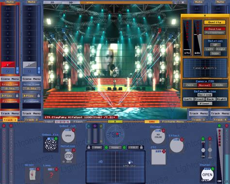 stage lighting design cad software