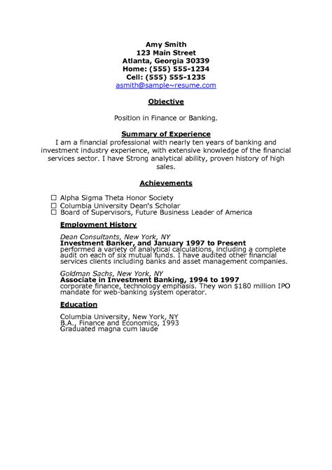 sales marketing executive resume format resume or cv