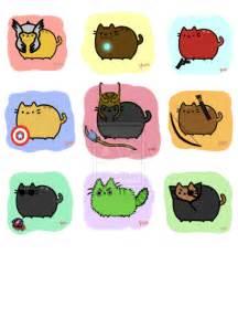 Pusheen Cat Pokemon