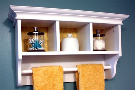 Small Wall Shelves Bathroom Best Decor Things