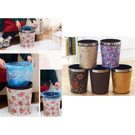 large size fashion kitchen trash  homeoffice trash bin
