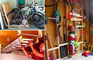 Idée Rangement Garage : 18 id es de rangements pour un garage d sencombr et ~ Melissatoandfro.com Idées de Décoration