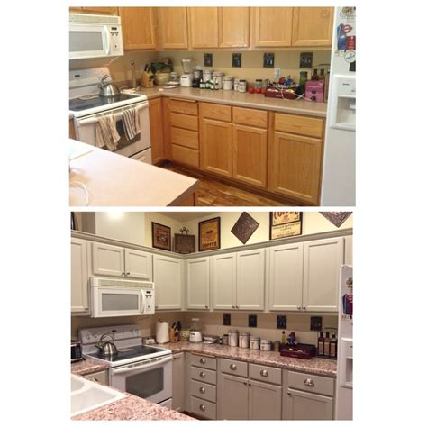 oak cabinet kitchen makeover finally finished my kitchen makeover bye bye honey 3560