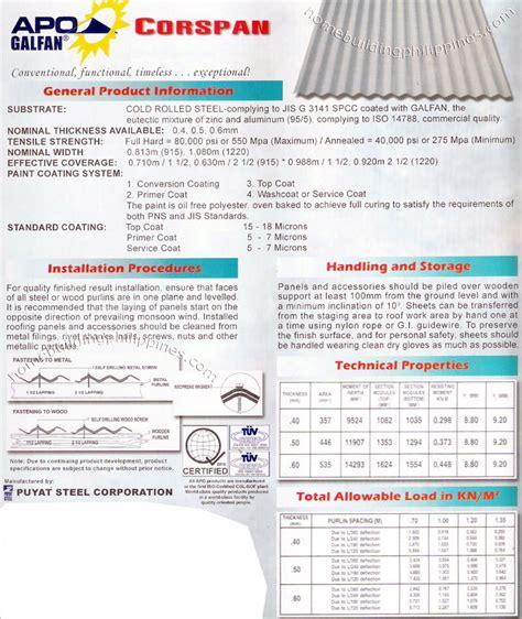 corrugated steel roofing installation handling storage
