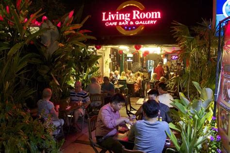 Living Room Cafe Bar Gallery Batu Ferringhi by Living Room From The Pavement Picture Of Living Room