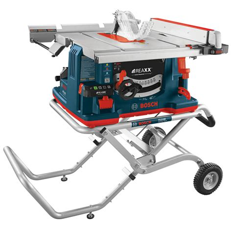 bosch 15 10 in table saw shop bosch reaxx 15 amp 10 in carbide tipped table saw at