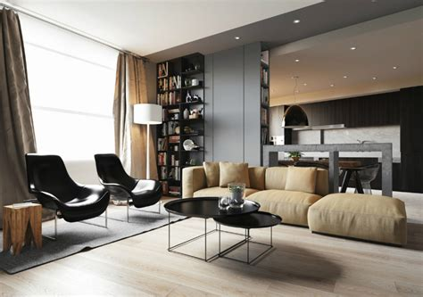 Minimalist Apartment : Minimalist Apartment With An Engaging, Laid-back