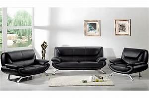 Pouf De Canapé : canap 3 places 2 places fauteuil en cuir luxe italien ~ Teatrodelosmanantiales.com Idées de Décoration