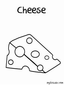 Macaroni And Cheese Coloring Page - Coloring Home