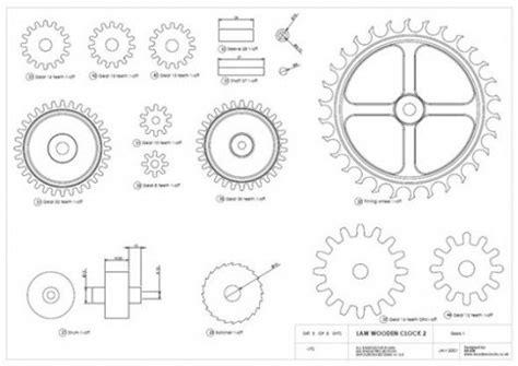 wooden gears template how to make a wooden gear clock feltmagnet