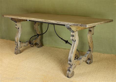 bleached oak dining table bleached oak dining table antiques atlas