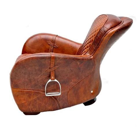 saddle baby chair leather chair object special