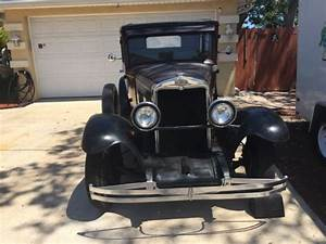1930 Chevy Sedan Antique Chevrolet Car For Sale
