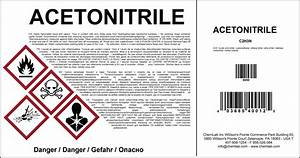 chemical labeling nicelabel With chemical label template
