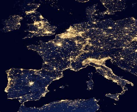 Carte De Pollution Nocturne by Anpcen Association Nationale Pour La Protection Du Ciel