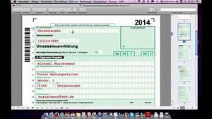 Umsatzsteuererklarung ausfullen beispiel freiberufler for Umsatzsteuervoranmeldung nullmeldung