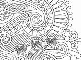 Coloring Pages Printable Health Adults Unique Creative Paisley Heart Flower Stress sketch template