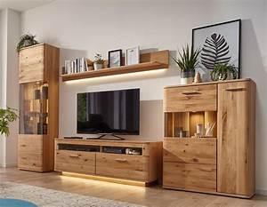 Möbel As Wohnwand : global paso wohnwand in eiche bianco jetzt online einkaufen ~ Watch28wear.com Haus und Dekorationen