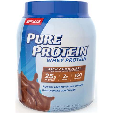 Amazon.com: Pure Protein 100 % Whey Protein, Rich