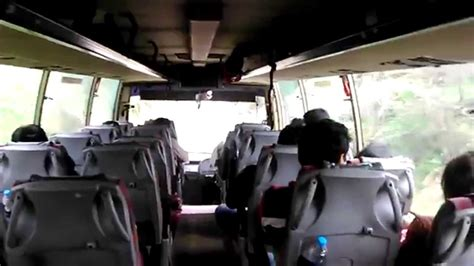 hrtc volvo bus interior delhi  manali youtube