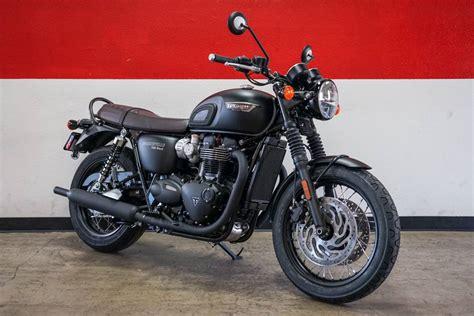 Triumph Bonneville T120 2019 by New 2019 Triumph Bonneville T120 Black Motorcycles In Ca