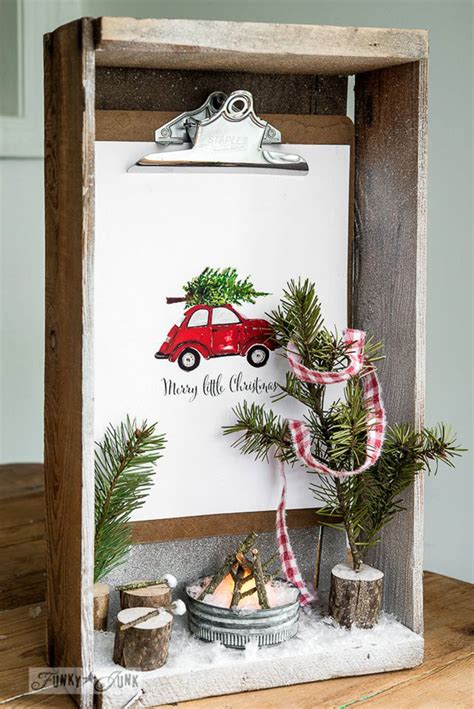 creative diy shadow box ideas  christmas crazyforus