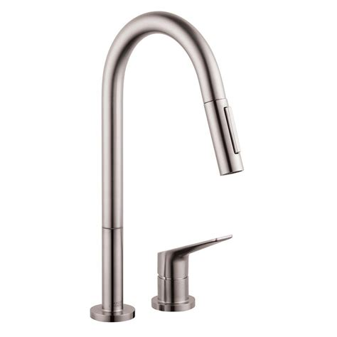 kitchen faucets hansgrohe hansgrohe axor citterio m single handle pull sprayer
