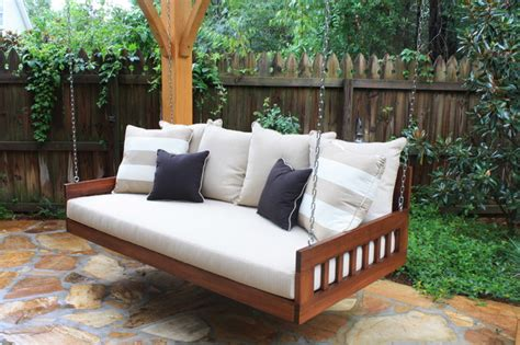 outdoor patio furniture traditional bedswing by southern komfort bedswings traditional patio furniture and outdoor