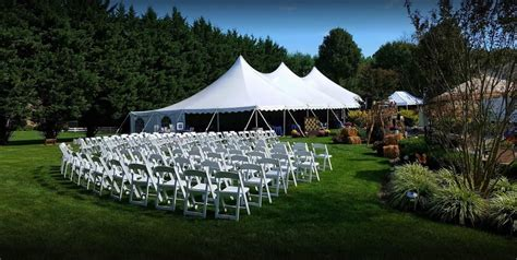 tent wedding ceremony tenting
