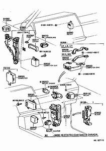 Toyota Corolla Switch Assembly  Headlamp Dimmer