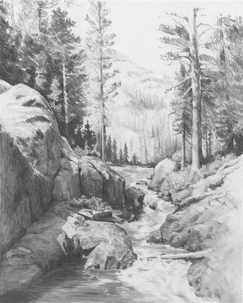 landscape drawings  pinterest landscape sketch