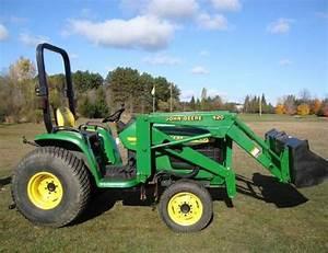 John Deere 4200 4300 4400 Compact Tractor Service Repair