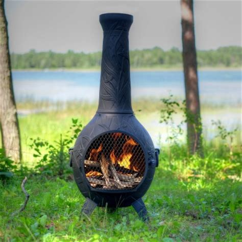 curing chiminea cast aluminum chiminea an informational guide