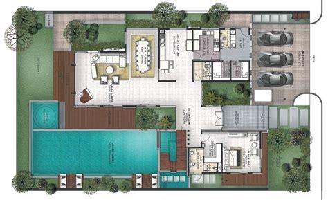 Villa Floor Plan by Prestige Golfshire Golf Villas Nandi Road Bangalore
