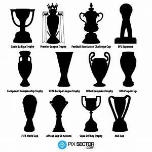 Football trophies vector png - Pixsector