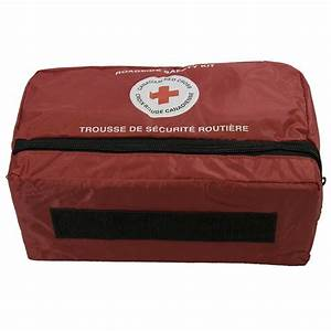 CANADIAN RED CROSS ROADSIDE FIRST AID AND SAFETY KIT