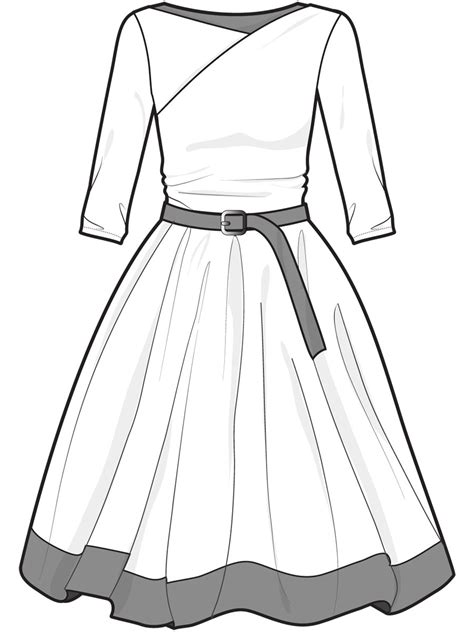 dress template the gallery for gt blank dress design templates