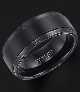black tungsten wedding bands for men classic mens With black men wedding ring