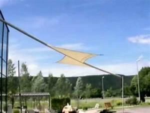 Sonnensegel Mit Motor : sonnensegel mit motor einfahren bei sturm youtube ~ Watch28wear.com Haus und Dekorationen