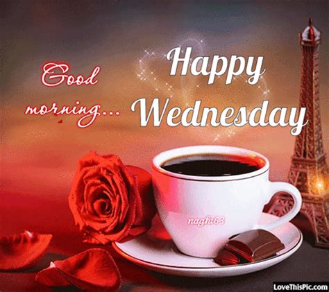 good morning happy wednesday gif quote pictures