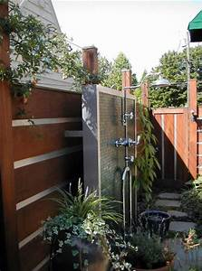 inspiring outdoor shower ideas With fantastic ideas for outdoor shower enclosure in garden